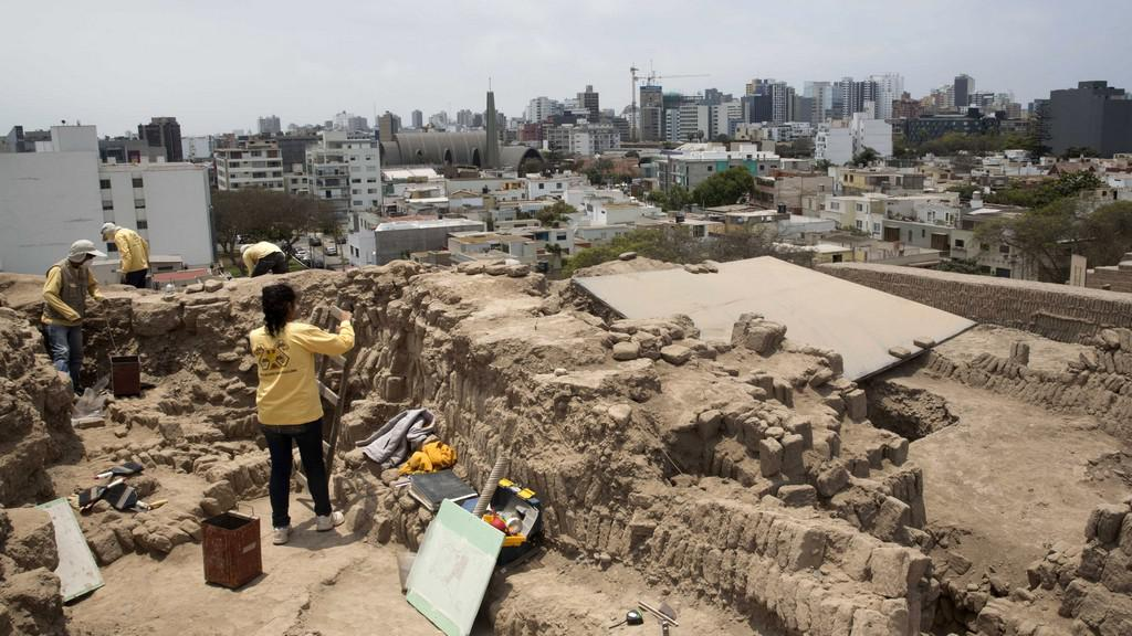 Objev mumií v Peru
