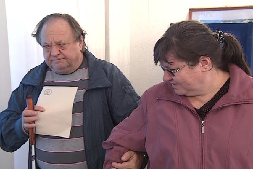 Hlasování nevidomých