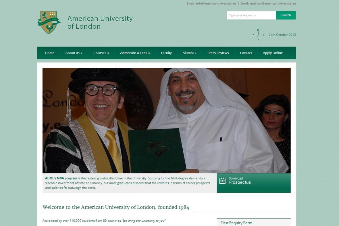 American University of London
