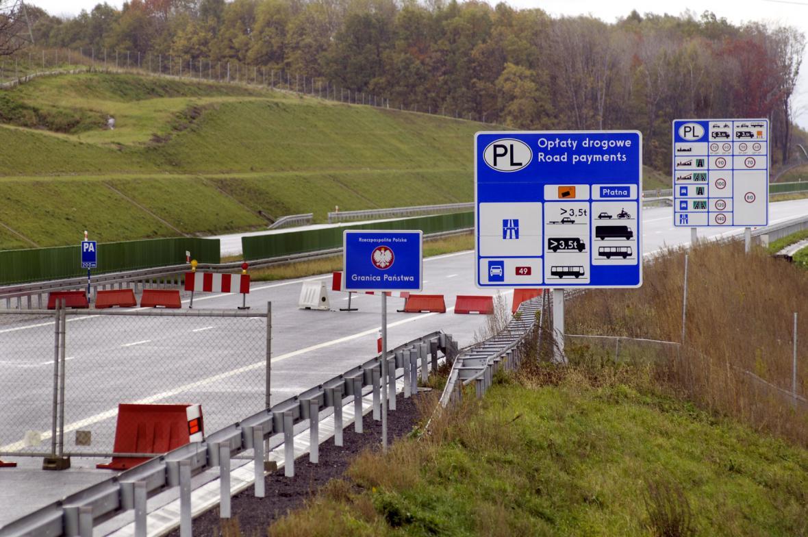 Poslední úsek dálnice D47 před uvedením do provozu