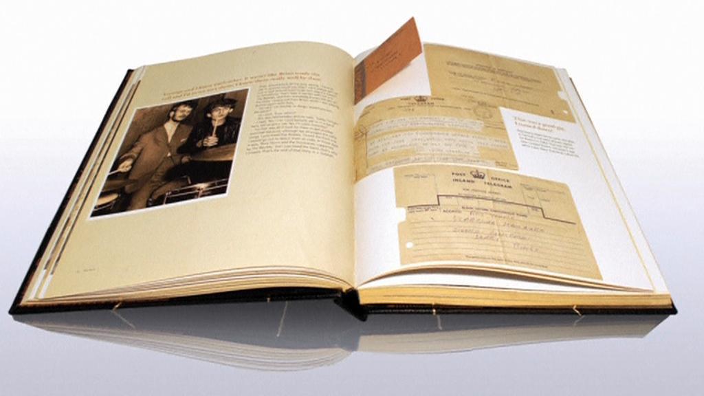 Náhled do knihy fotografií od Ringo Starra
