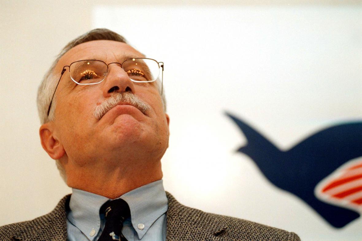 Václav Klaus coby předseda ODS