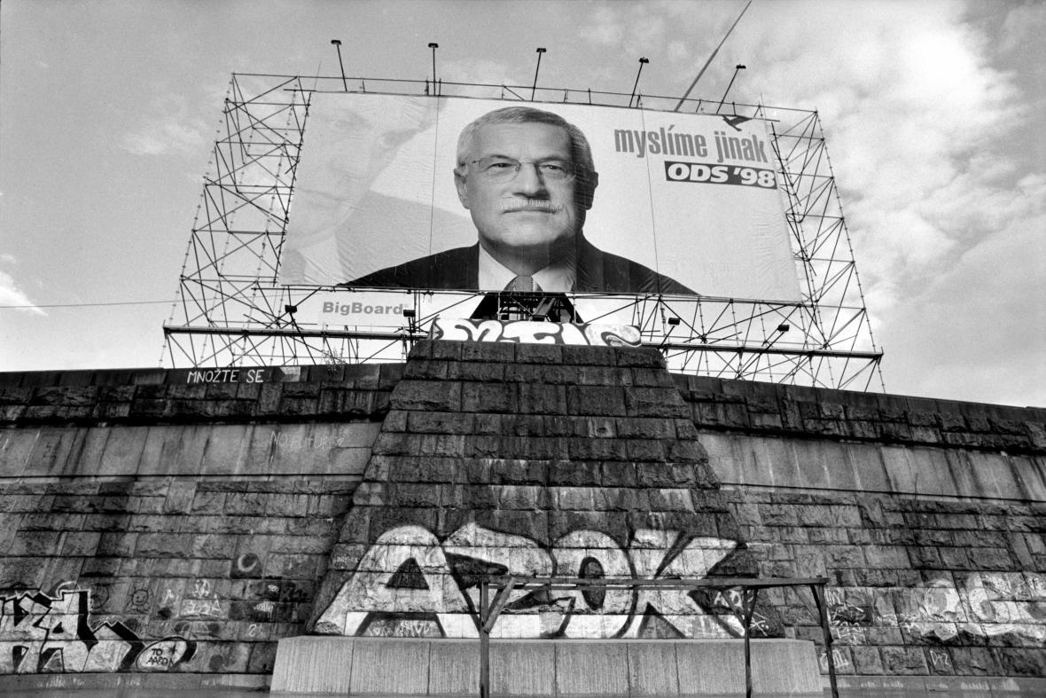 Předvolební kampaň ODS v roce 1998