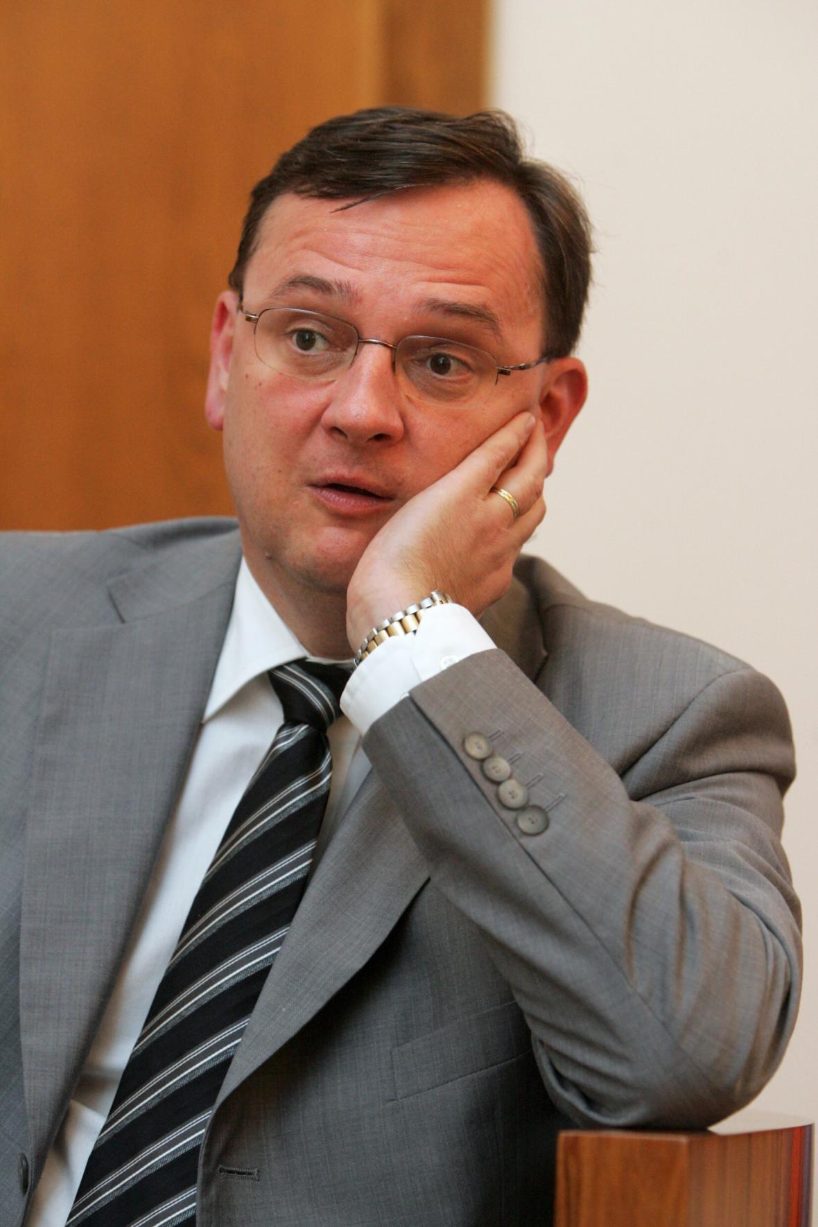 Předseda ODS Petr Nečas (2011)