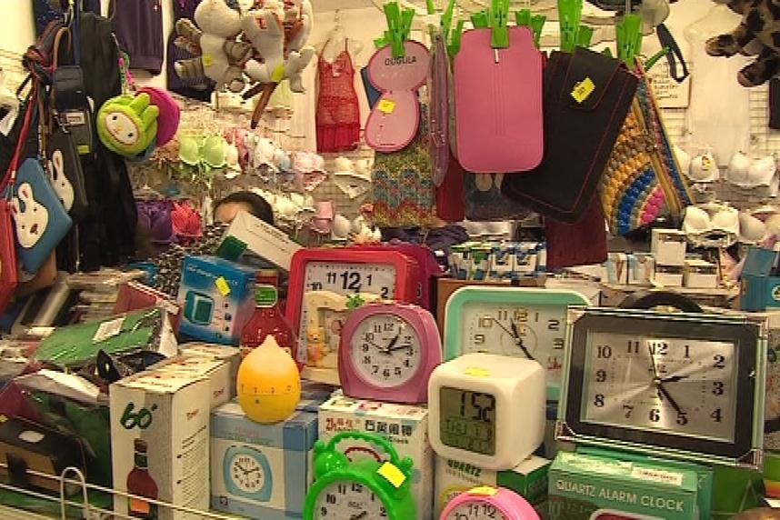 Zboží na tržnici
