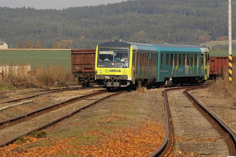 Vlak v Jevíčku