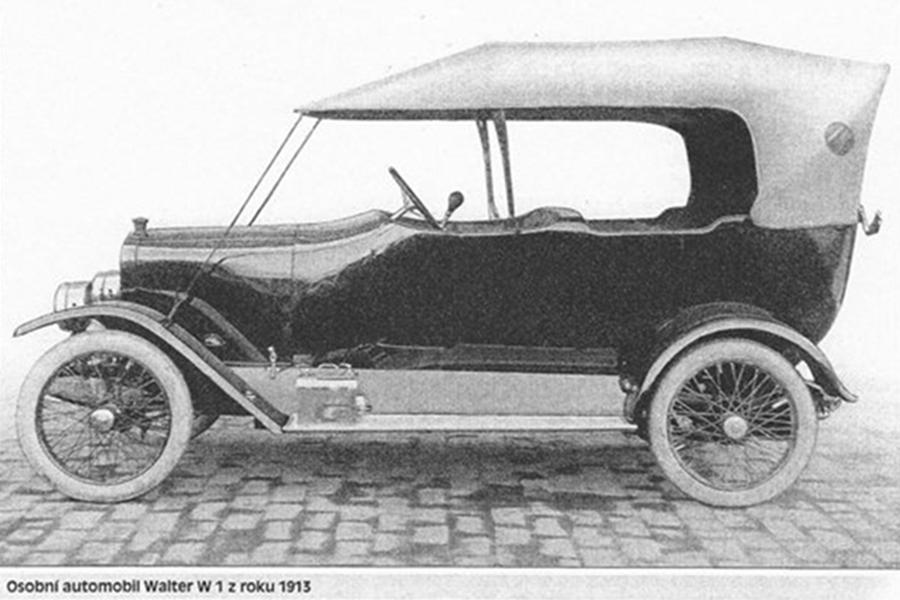 Automobil Walter W1