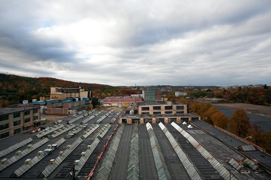 Bývalá továrna Waltrovka v pražských Jinonicích