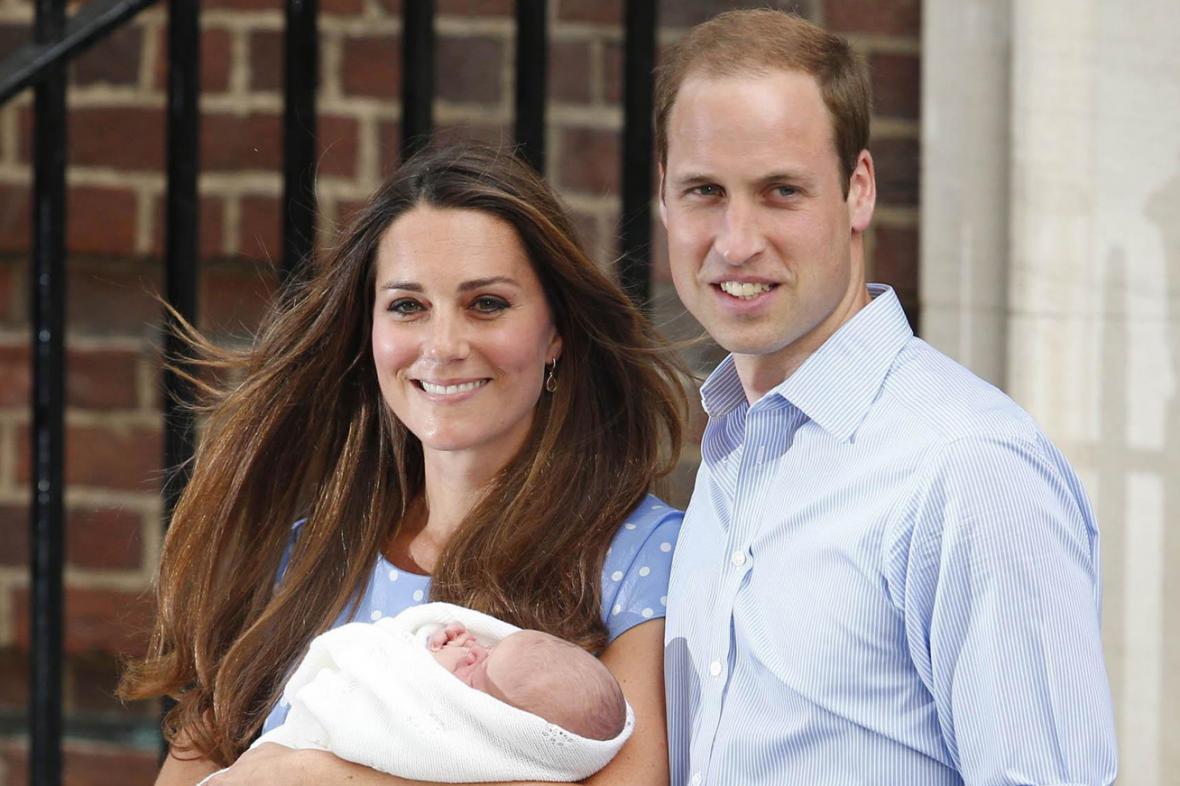 Kate a William s princem Georgem