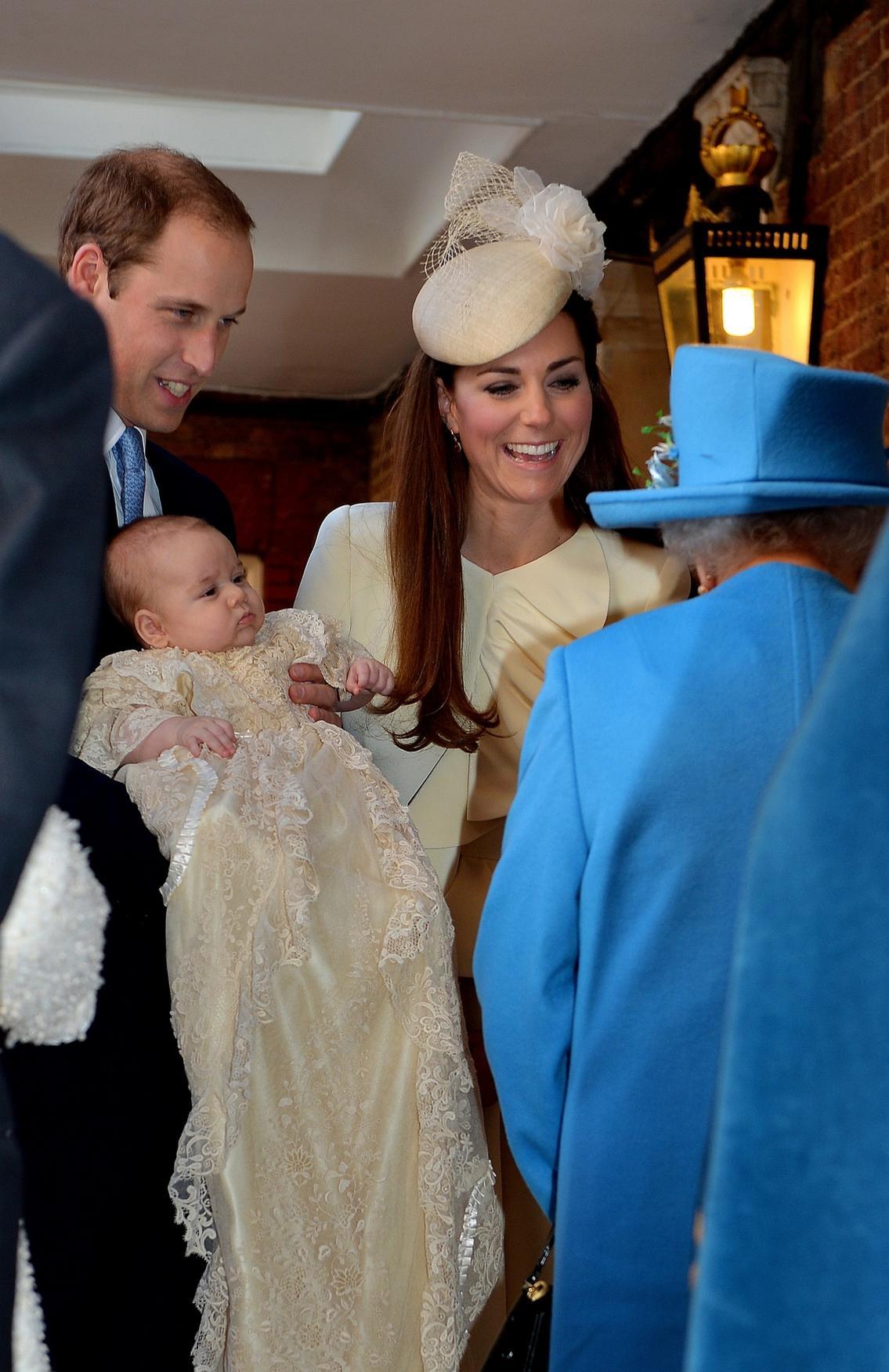 Křtiny prince George