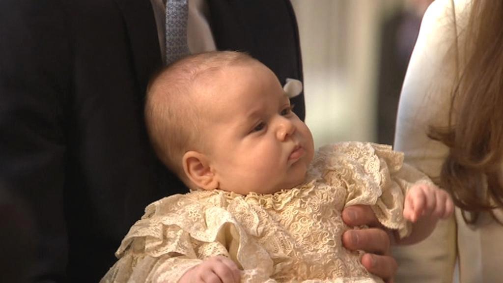 Křest prince George