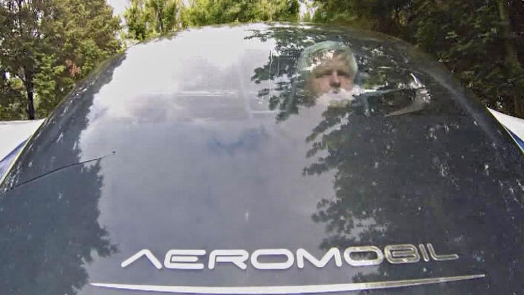 Štefan Klein v Aeromobilu