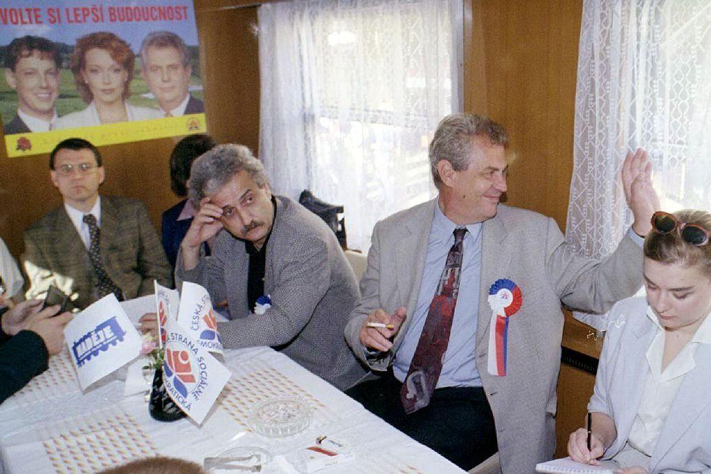 Volební kampaň ČSSD v roce 1998