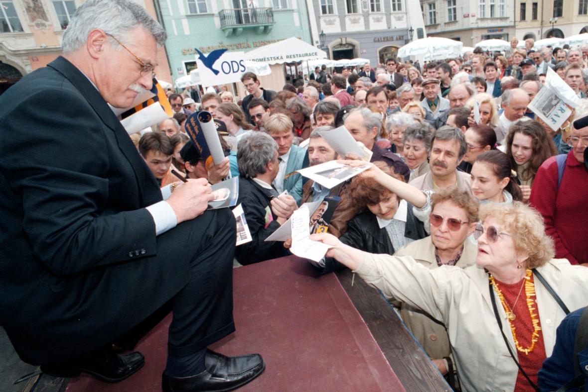 Volební kampaň ODS v roce 1996
