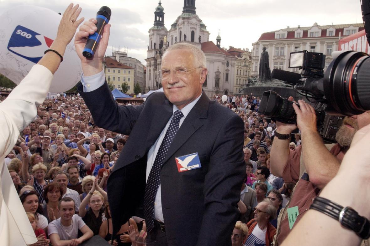 Volební kampaň ODS v roce 2002