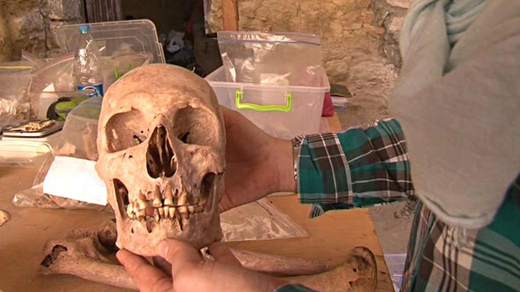 Archeologické práce v Egyptě