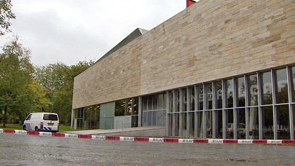 Loupež v galerii Kunsthal