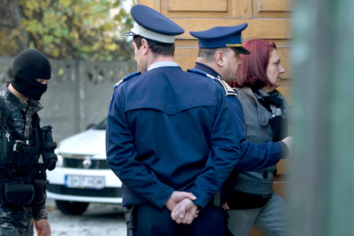 Olga Dogaruová u rumunského soudu