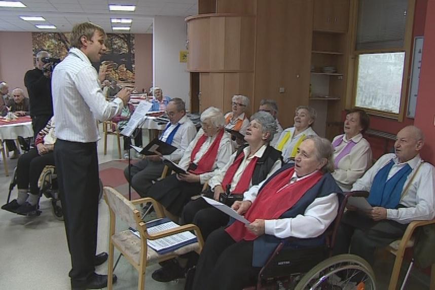 Blanenský sbor v domově pro seniory