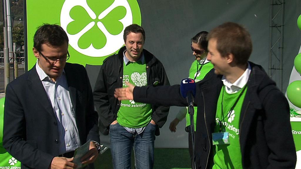 Ondřej Liška zahajuje kampaň Strany zelených
