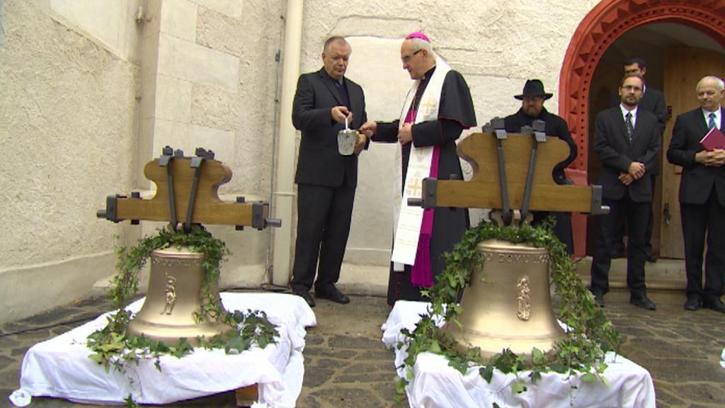 Vysvěcení zvonů