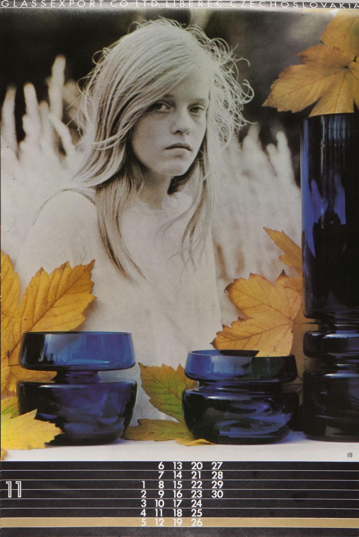 Taras Kuščynskyj / kalendář Glassexport (1978)