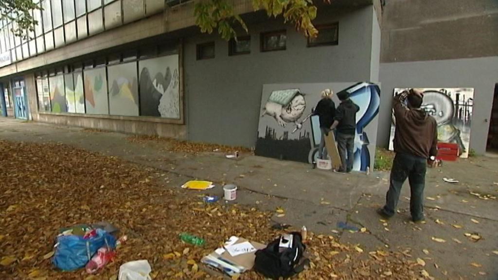 Mladí umělci v Ostravě