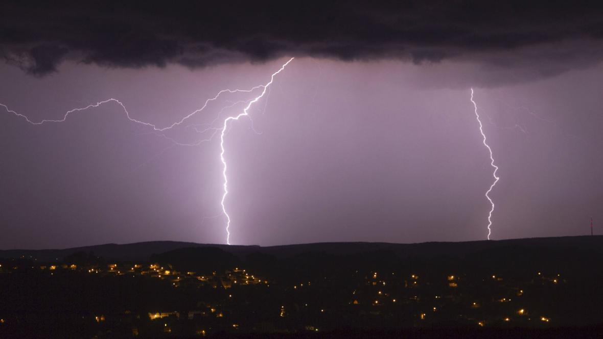 Bouře v Německu