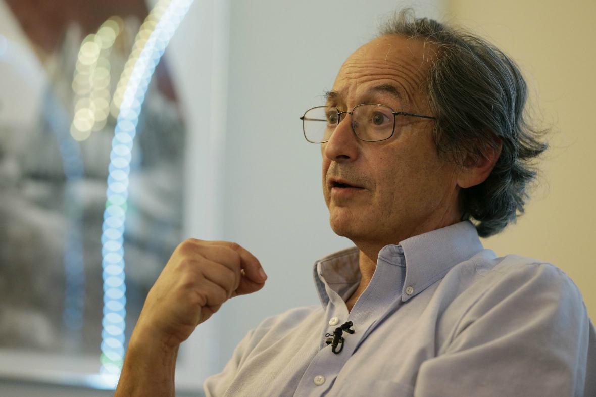 Nositel Nobelovy ceny za chemii Michael Levitt