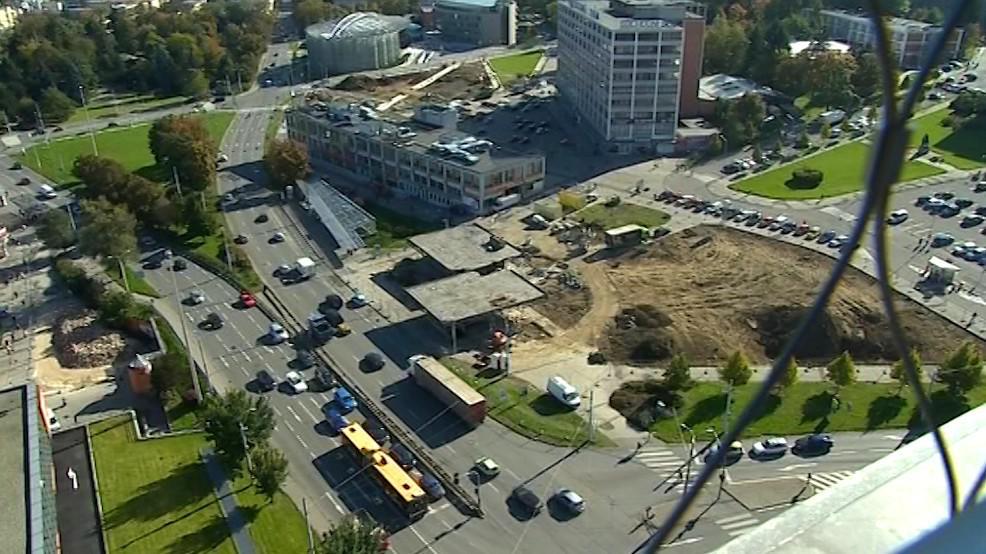 Zlín začal s přestavbou rušného podchodu v centru