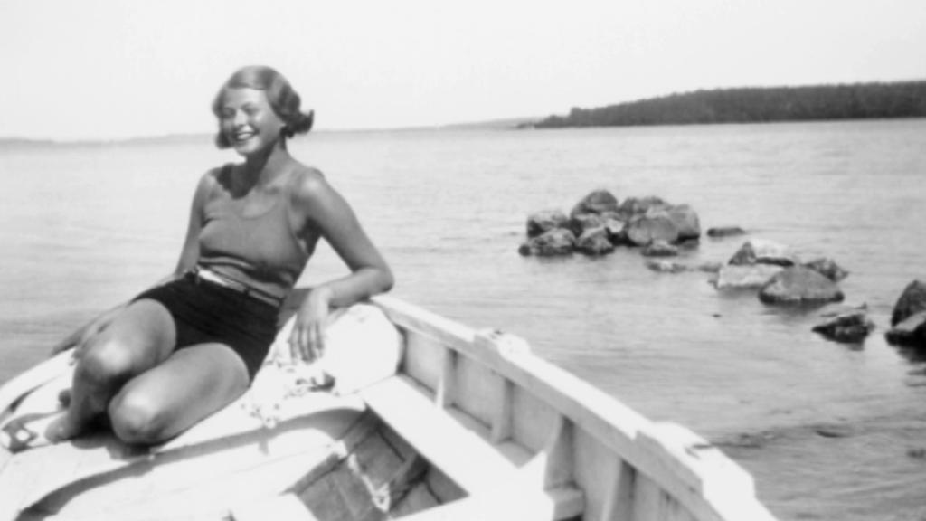 Ingrid Bergmanová jako sedmnáctiletá