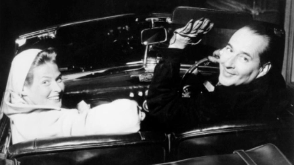 Ingrid Bergmanová s Robertem Rossellinim