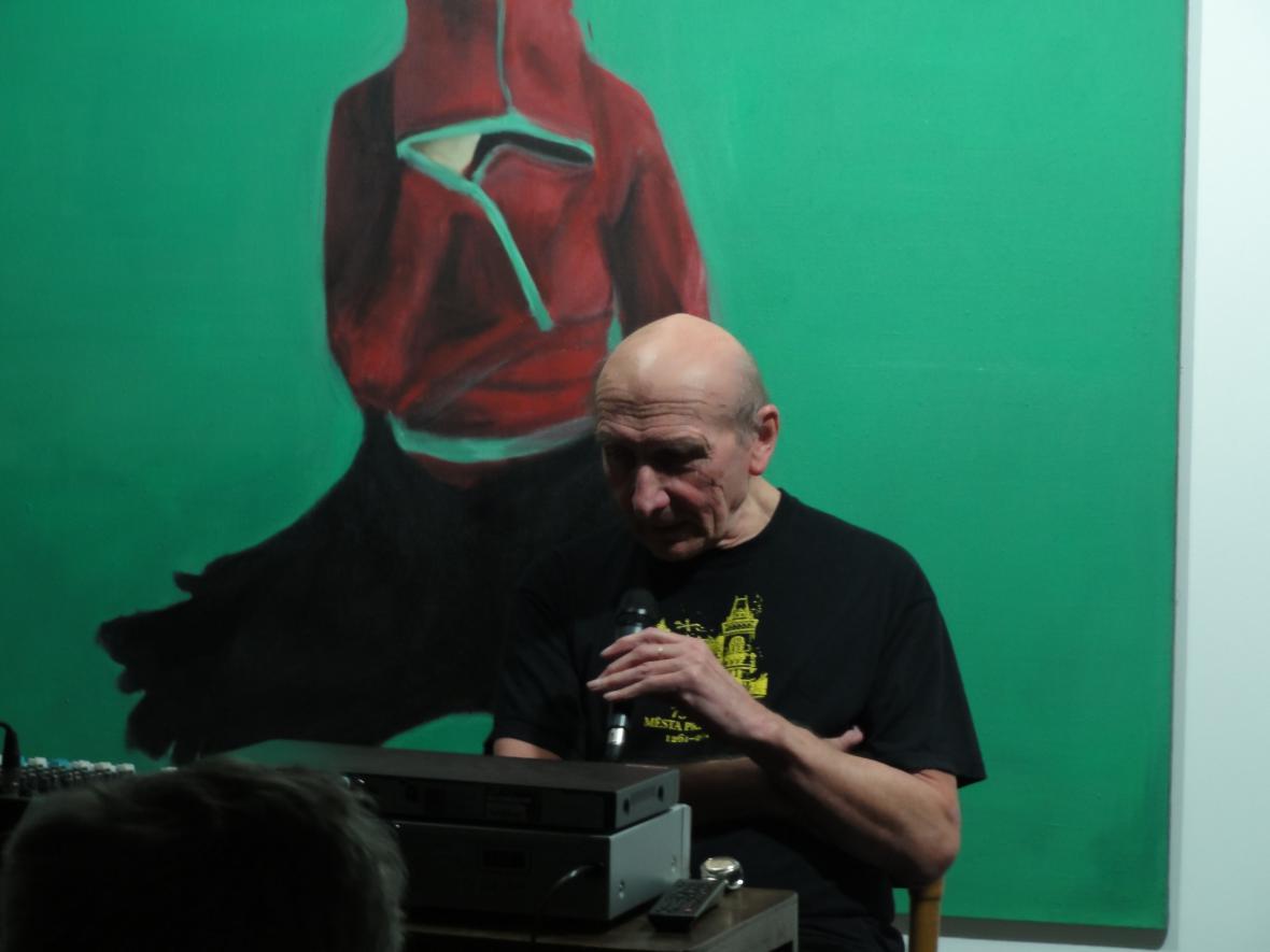 Hudební publicista Jiří Černý