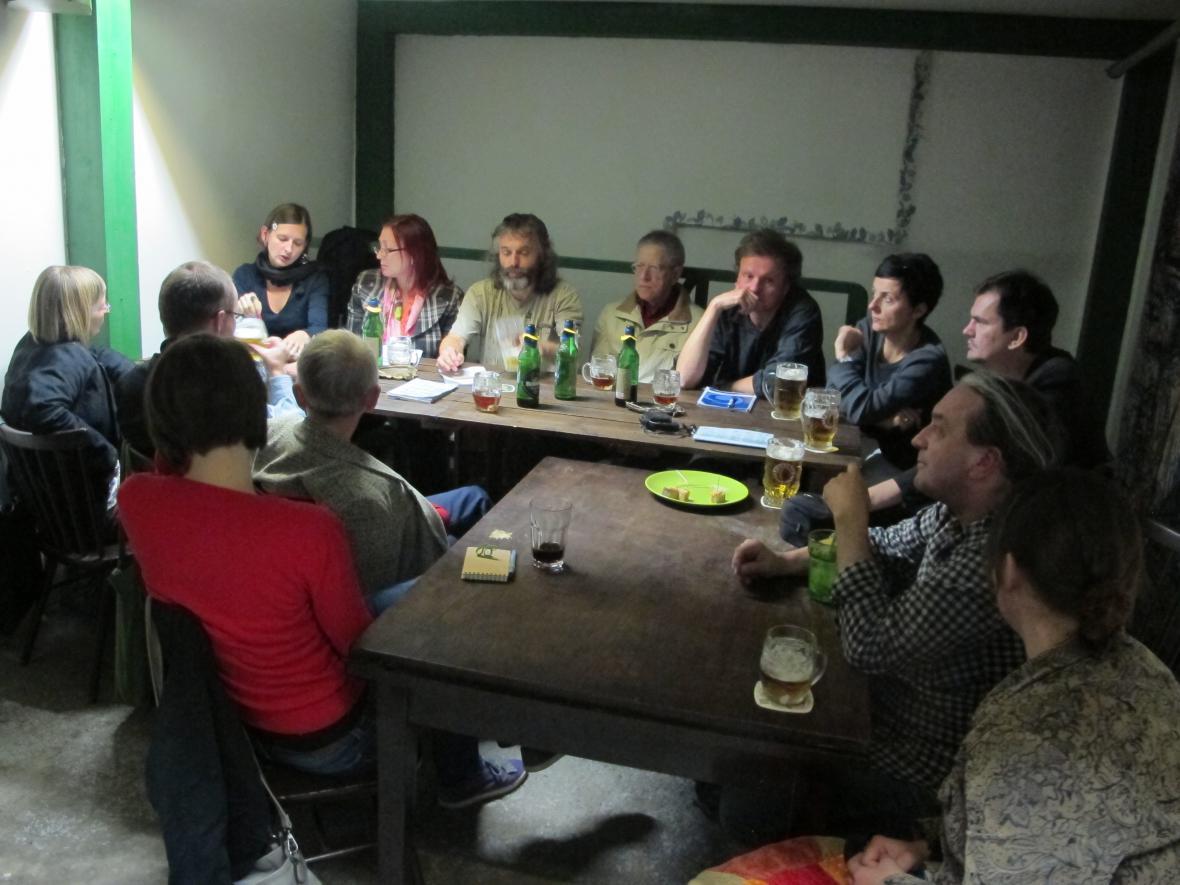 Schůze Okrašlovacího spolku Za krásnou Ostravu