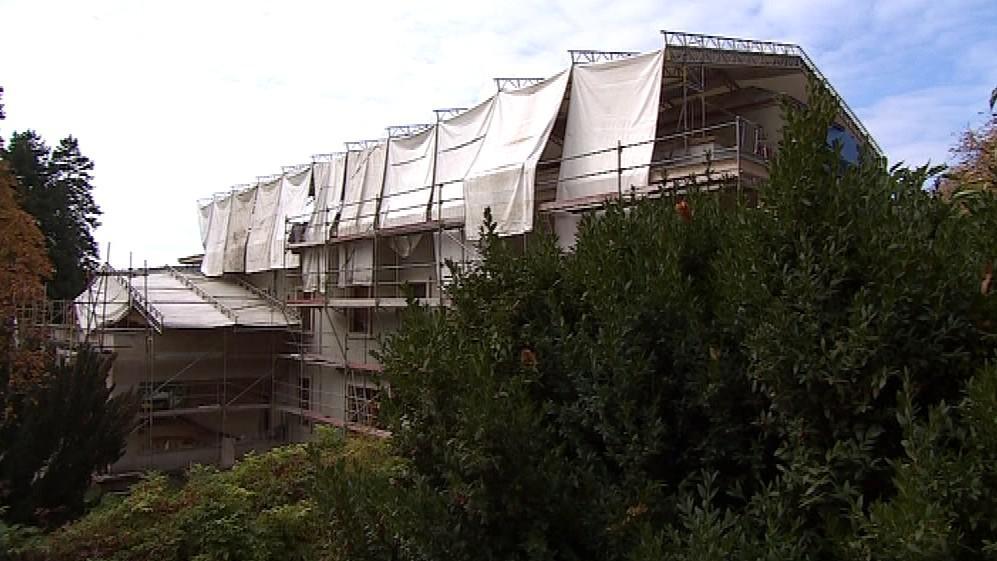 Vila Stiassny v Brně prochází rekonstrukcí