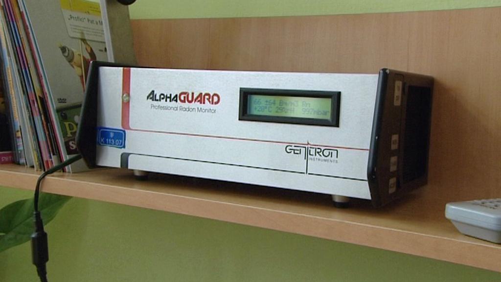 Detektor koncentrace radonu