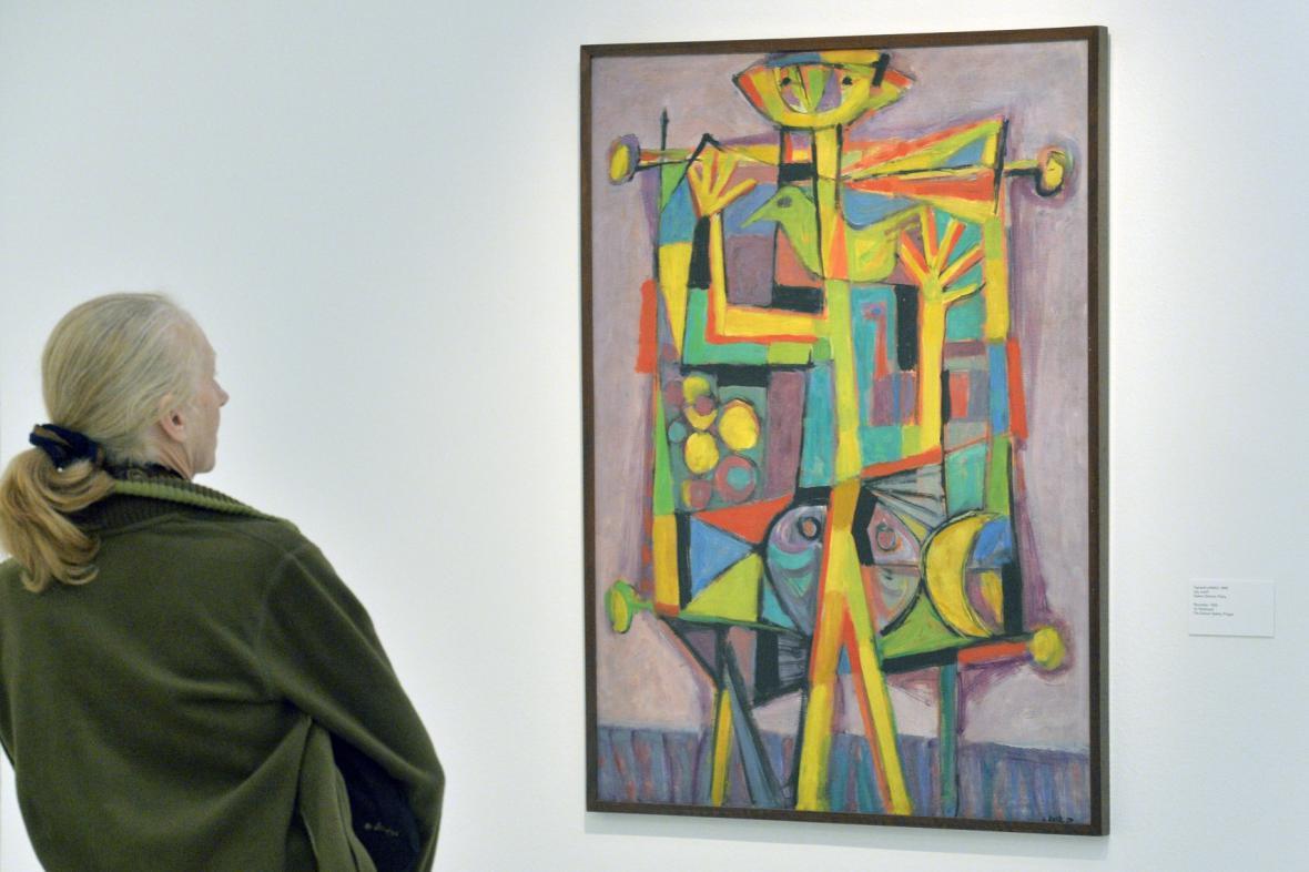 Z výstavy Jana Kotíka