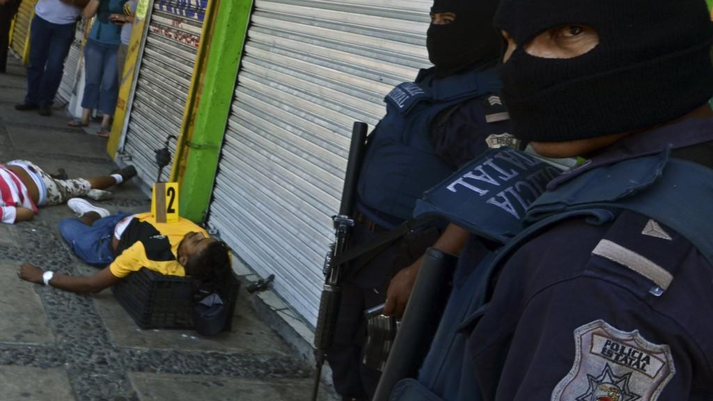 Kriminalita ve městě Acapulco