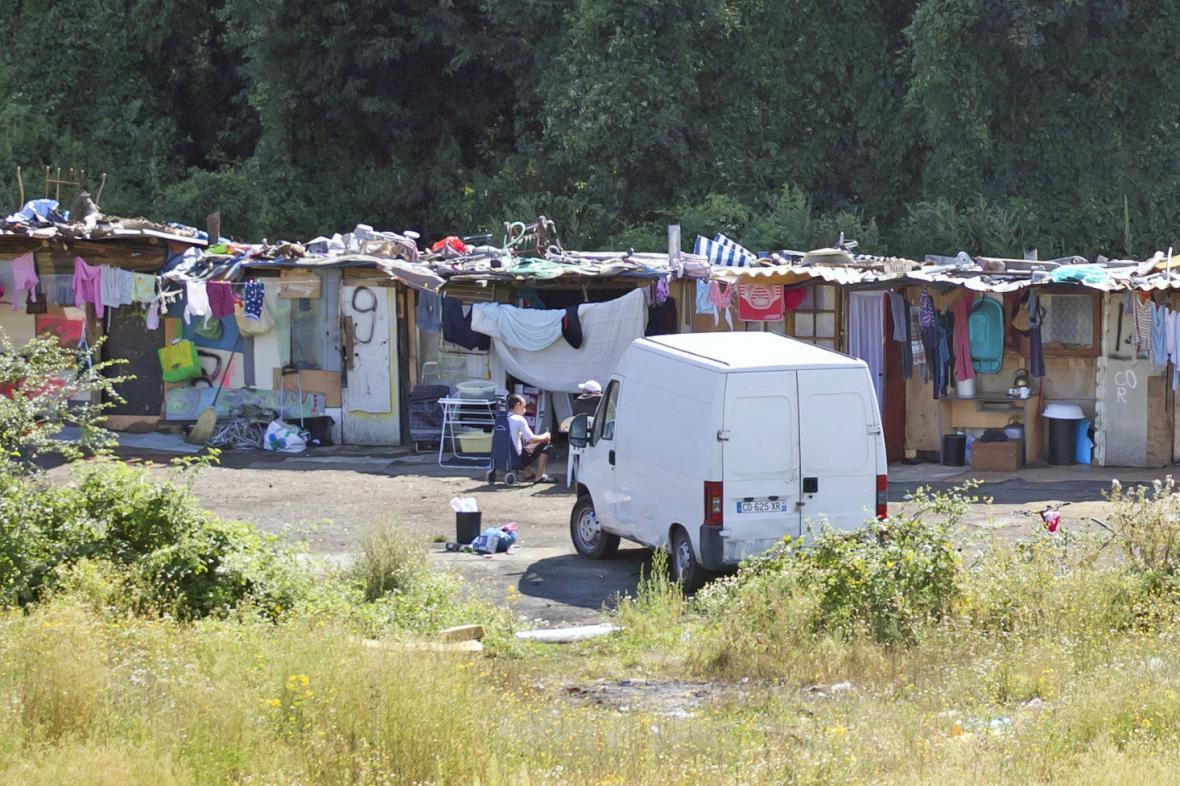 Romské tábořiště ve Francii