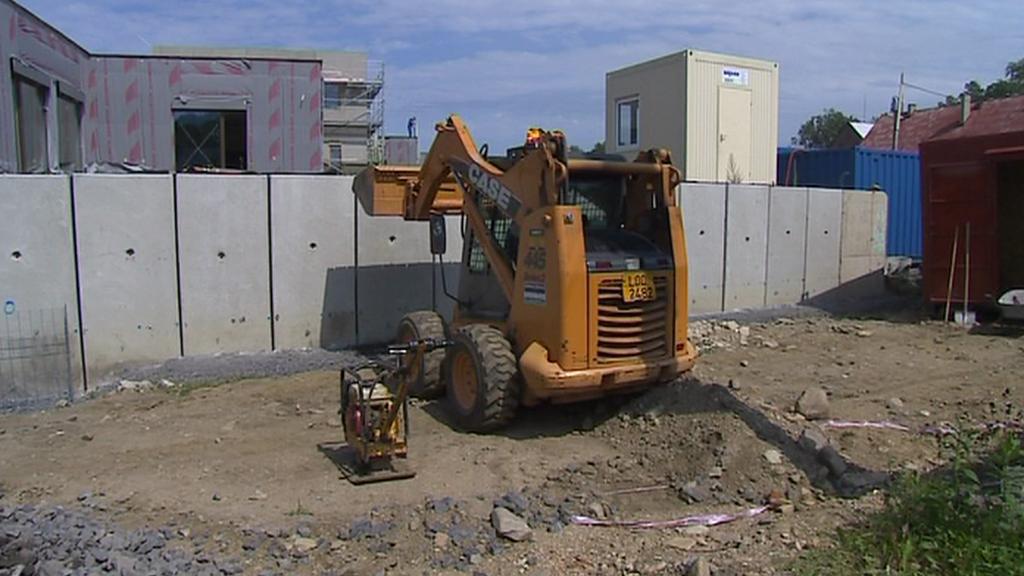 Opravy po povodních v Raspenavě