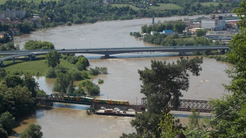 Povodeň v Děčíně
