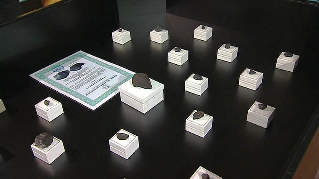 Úlomky čeljabinského meteoritu