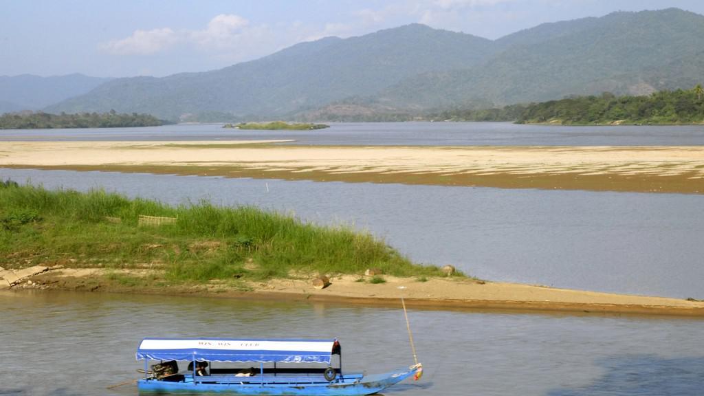 Řeka Mekong