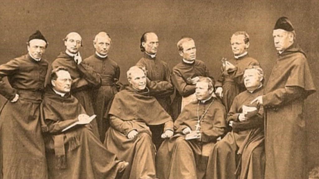 Gregor Johann Mendel s dalšími augistiniány