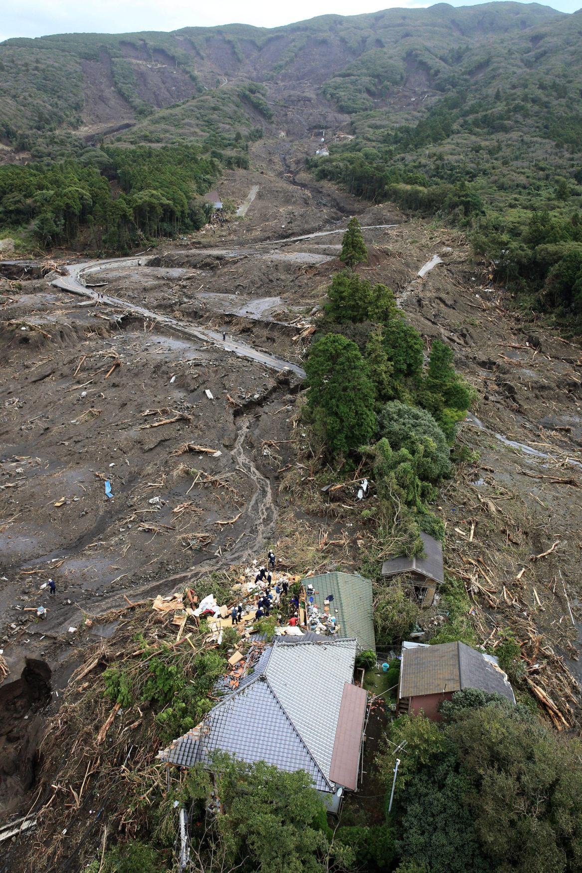 Tajfun Wipha po sobě nechal čtyři oběti