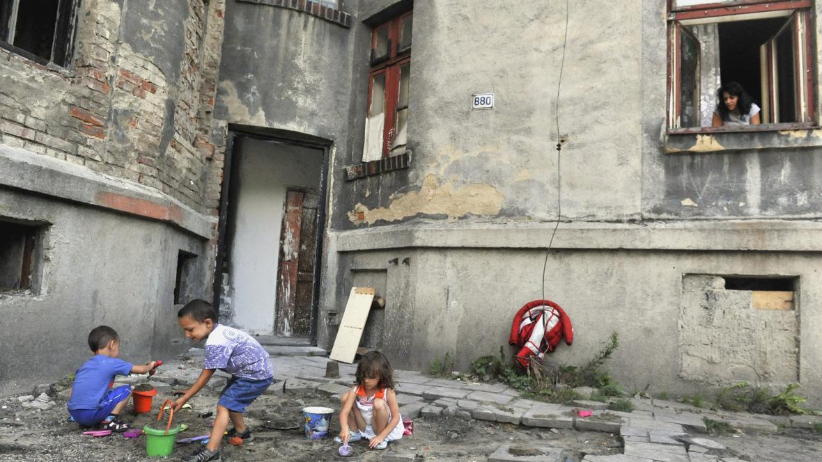 Ostravské ghetto v Přednádraží
