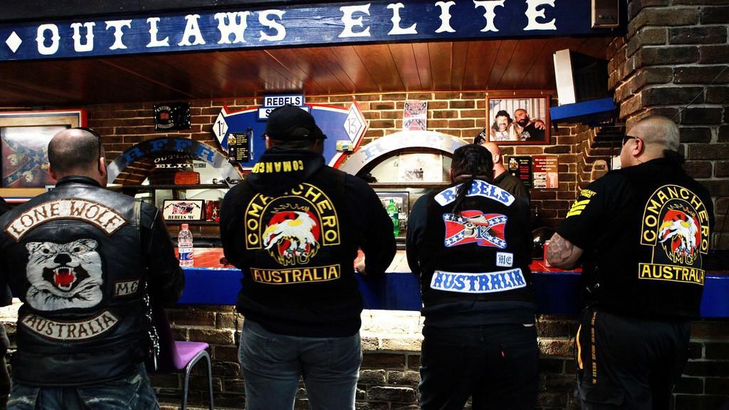 Australské motorkářské gangy