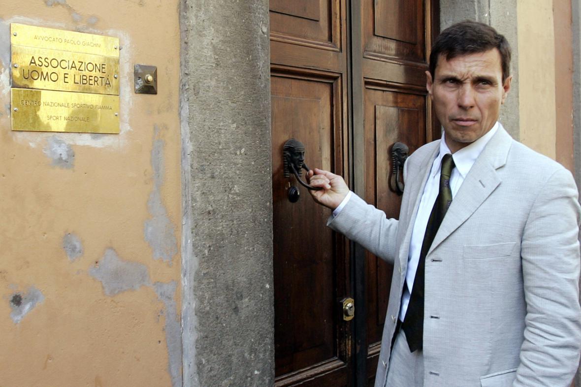 Priebkeho advokát Paolo Giachini