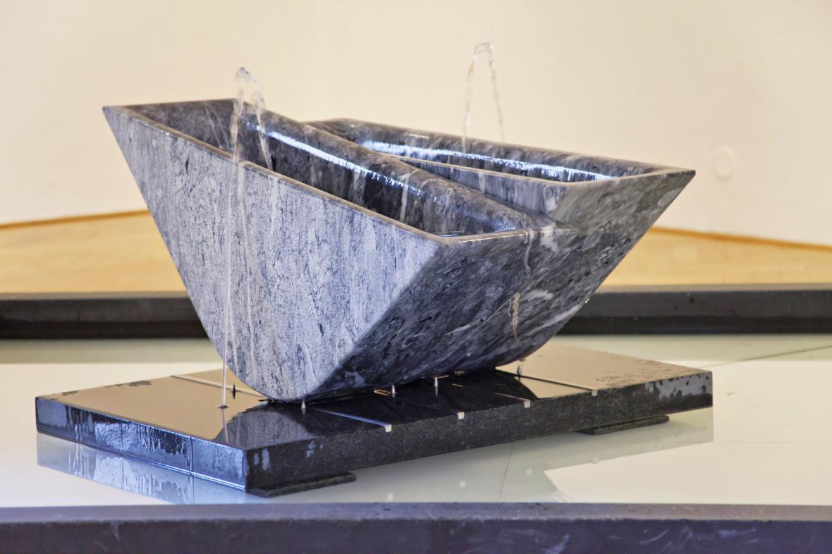 Z výstavy Tušení rovnováhy / František Svátek