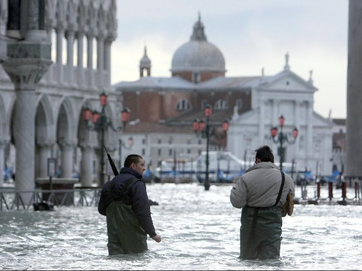 Brodící se Benátčané